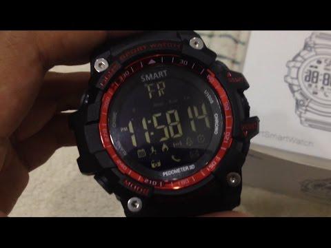 SmartWatch EX Series EX16 Review