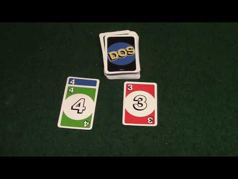 How To Play Dos Card Game (Sequel To Uno) Alternative Version