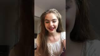 Jade Weber (2018/12/25 - 9:48pm PT) (Instagram Live Video)