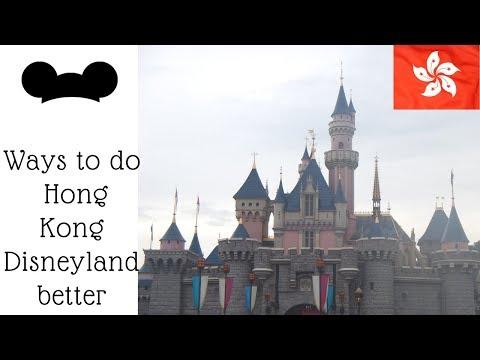 Tips from Hong Kong Disneyland