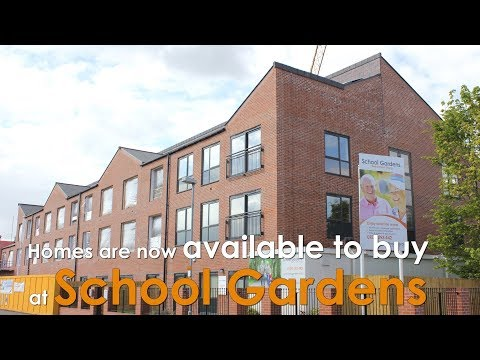 Retirement living - Homes are still available at School Gardens, Stourport.