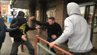 Tommy Robinson Viciously Attacked | Hate Preaching Begets Hate!