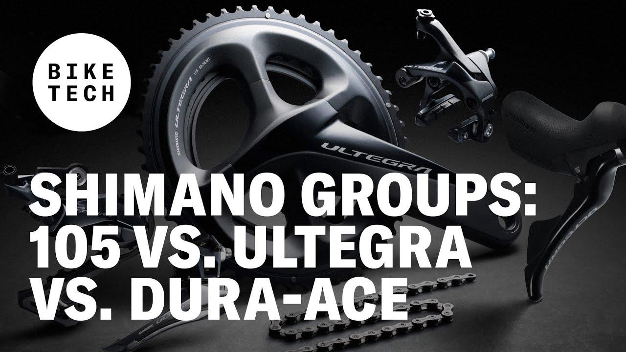 Shimano Groups: 105 vs. Ultegra vs. Dura-Ace