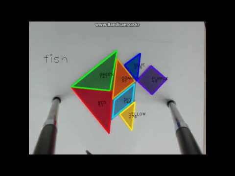 how to dectect (triangle rectangle)tangram using opencv approxpolydp