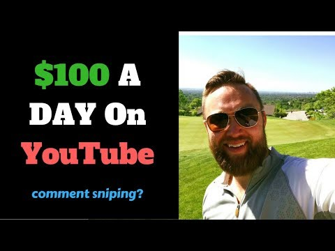 How To Make $100 A Day On YouTube Without Subscribers (COMMENT SNIPING)