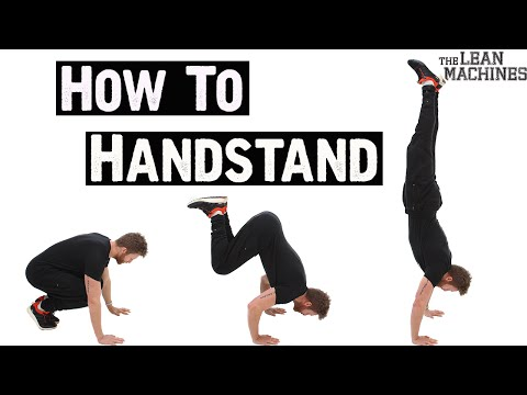 How to handstand like a pro