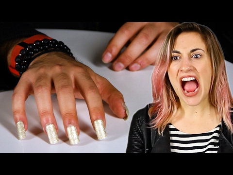 Nail-Biters Wear Kylie Jenner-Style Nails