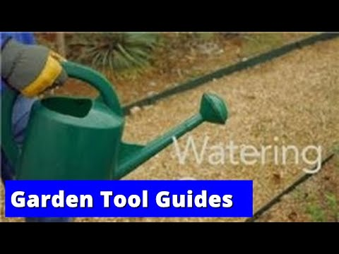 Garden Tool Guides : How to Use a Watering Can