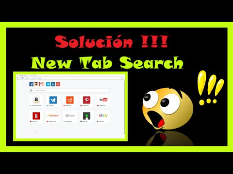 Solución ❗❗❗ Eliminar motor de búsqueda