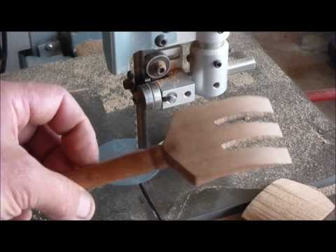 Woodturning With Naked Turner Salad Tongs How To