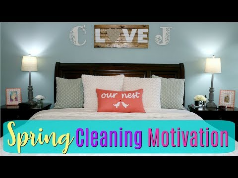 Master Bedroom Spring Cleaning Motivation/Clean With Me/Ultimate Clean