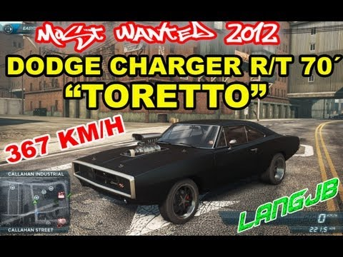 Need For Speed Most Wanted 2012 [PC] Dodge Charger R/T ´70