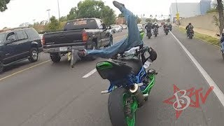 STUPID BIKE RIDERS AND EPIC MOTORCYCLE RIDING FAILS COMPILATION 2017 HD
