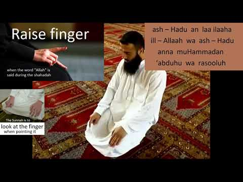 Slow (step-by-step) Zuhr, Asr or Isha Salaah For Beginners (With Al Fatihah)