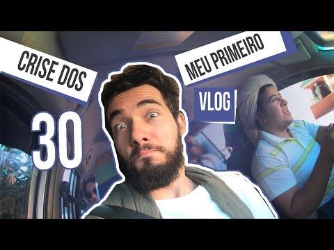 Crise dos 30 / Meu primeiro Vlog