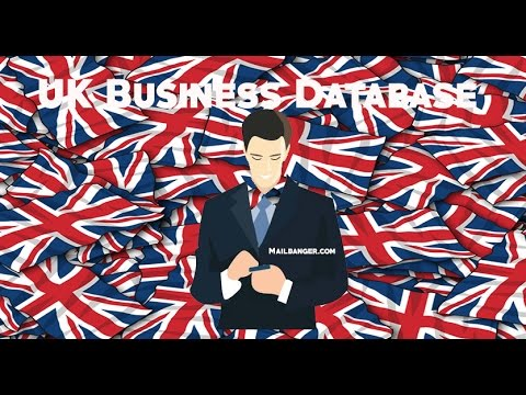 UK business email database list of companies