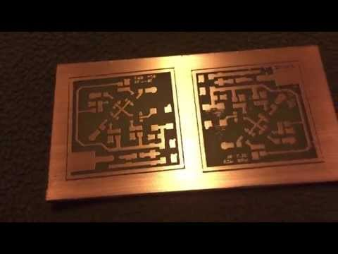 Lasering PCBs