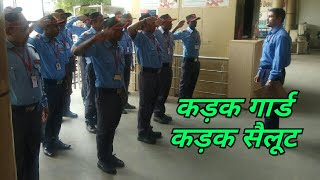 Parade Training of Bilaspur Guard (Hindi)