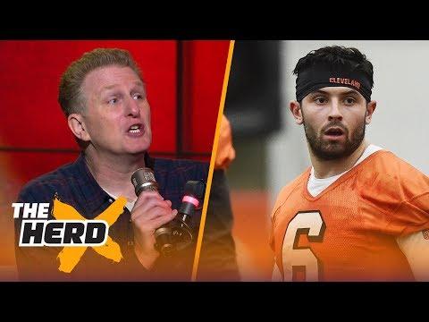 Michael Rapaport talks Browns QB Baker Mayfield on HBO's Hard Knocks, LeBron's Cavs drama   THE HERD