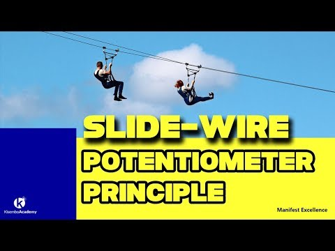 Principle of D.C Potentiometer | how it works | principle of slide wire potentiometer