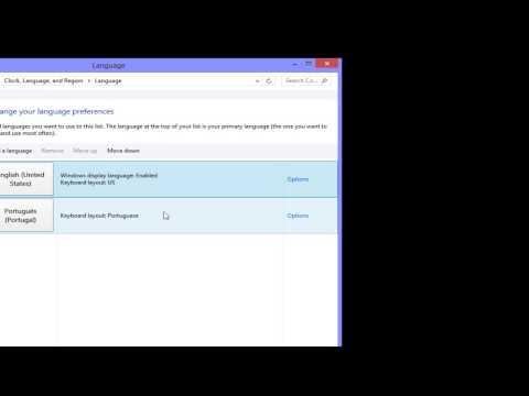 Windows 8 - How to change display language