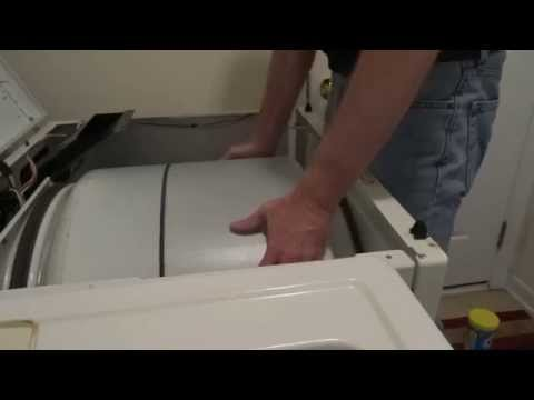 Kenmore 80 series gas dryer - no heat, valve coil and belt replacement