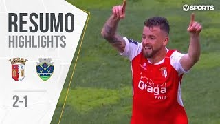 Highlights | Resumo: Braga 2-1 Chaves (Liga 18/19 #21)