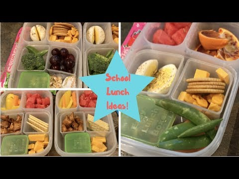 School Lunch Idea | Snacky Lunches