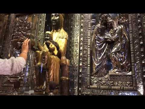 SPAIN, Black Madonna of Montserrat, Royal Basilica