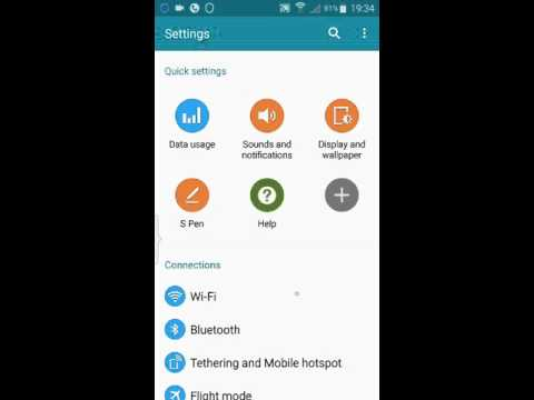 How to change caller ID in S Note 4