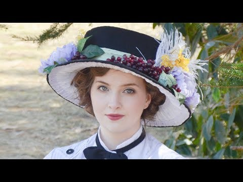 Edwardian Hat Tutorial