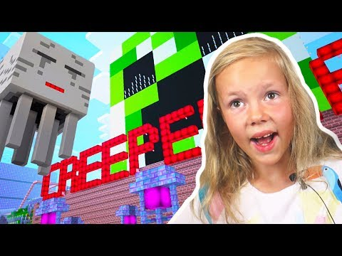 WHERE ARE THE PUPPIES? Amusement park or Creeperland. Having fun at Notchland ❑ Minecraft