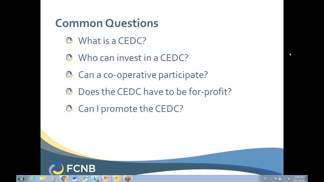 CEDC Webinar