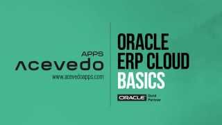 Oracle Erp Cloud  Demo