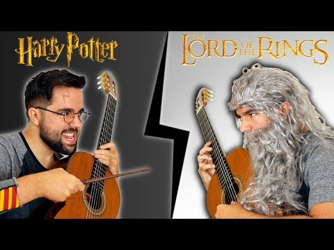 HARRY POTTER vs. THE LORD OF THE RINGS On Guitar