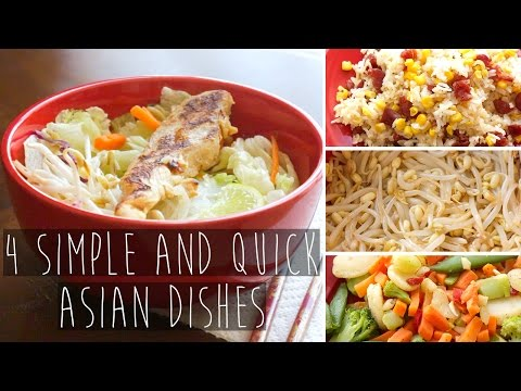 4 Quick and Easy Asian Recipe Dishes FOR COLLEGE   Eva Chung
