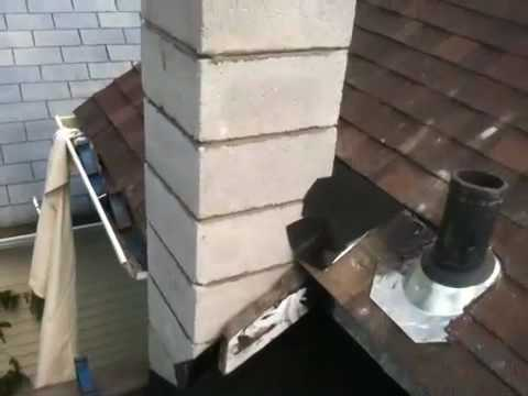 Step to build chimney