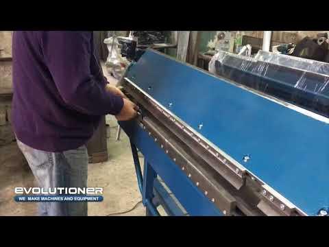 MB-1400 Segmented sheet metal bending machine /folder