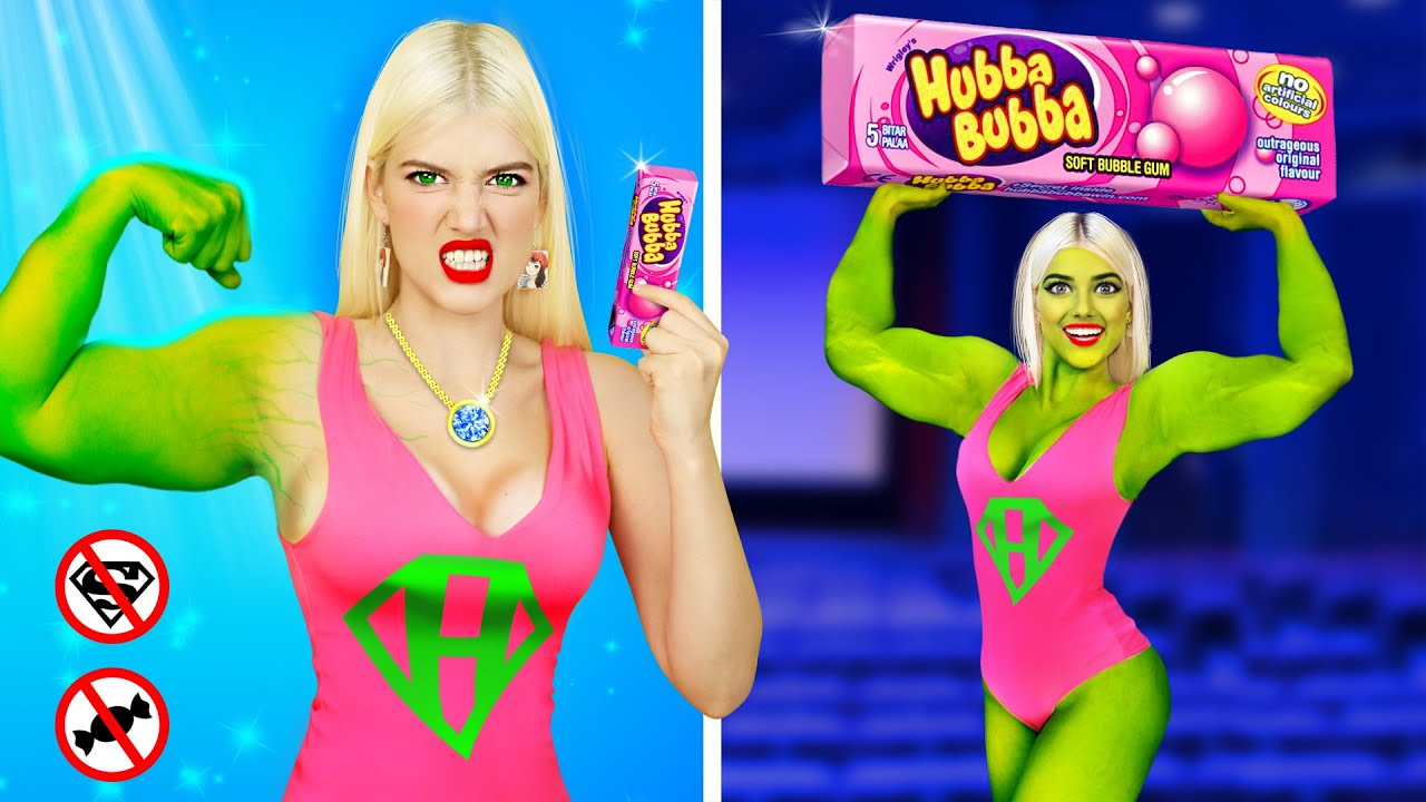 How To SNEAK Superheroes into the Movies! Funny Situations with Sneak Food Hacks by RATATA COOL