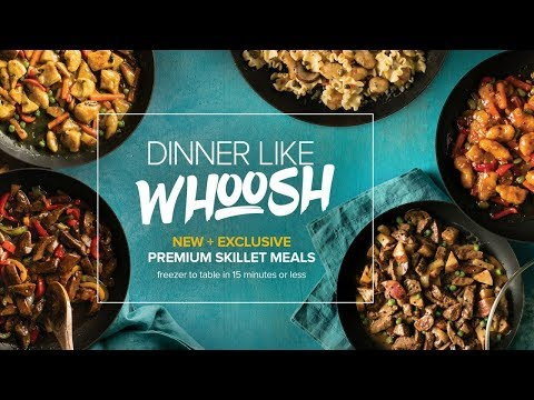 Omaha Steaks Skillet Meals: Dinner Like WHOOSH!