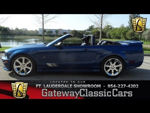 2007 Mustang Saleen S281 - Gateway Classic Cars - #457 FTL