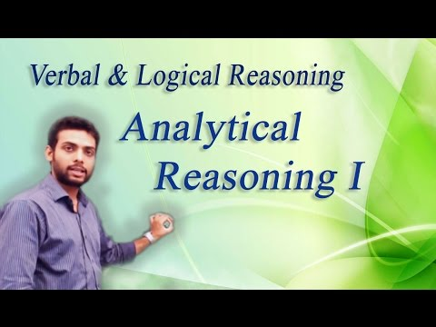 How to Solve Analytical Reasoning Problems Non Verbal Reasoning - I : ( IBPS, GRE, GMAT, CAT,)