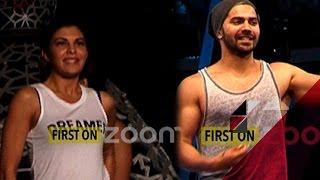 Varun Dhawan & Jacqueline Fernandez's Dance Rehearsal For TOIFA 2016   Bollywood News