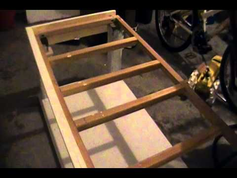 Diy washer dryer stand part 9