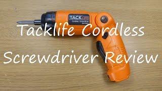 Tacklife Cordless Screwdriver SDH13DC  3.6V Li-Ion Review