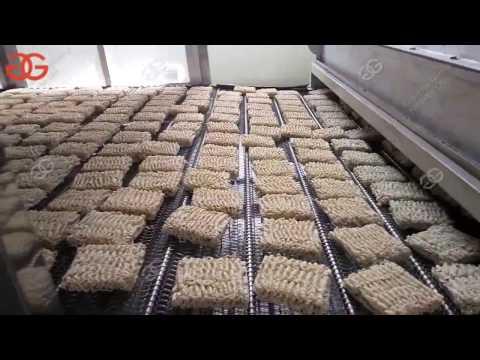 Process of Full Instant Noodle Production Line|GELGOOG® Instant Noodles Making Machine