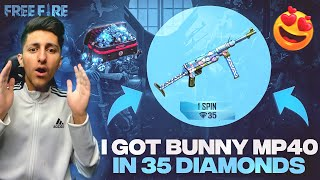 I Got Bunny Mp40 In 35 Diamonds😍 New Event In Free Fire Mystery Shop 90% Off - Garena Free Fire
