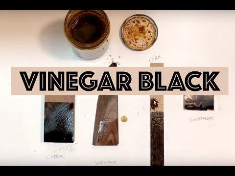 Vinegar Black / Vinegaroon Dye
