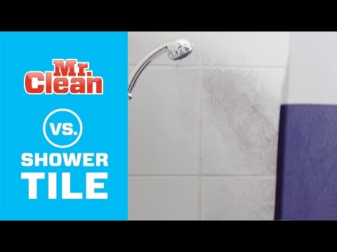 How to Clean Bathroom Shower Tile | Mr. Clean®