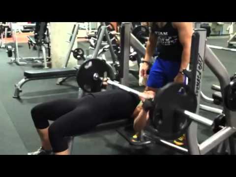 IFBB Pro Jordan Seales of Prescription Nutrition Making the Bench Press Look Easy